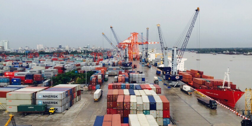 Myanmar industrial port connecting the world in port business thecheapjerseys Choice Image